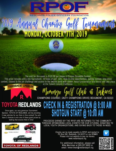 RPOF Annual Golf Tournament 2019